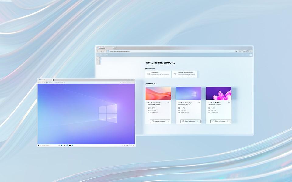 Nieuwe cloud werkplek genaamd Windows 365